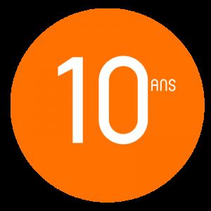 Nos garanties 10 ans
