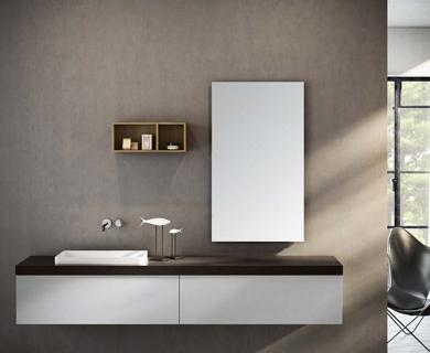Le lavabo moderne et haut de gamme